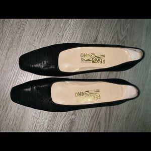 Ferragamo block heels
